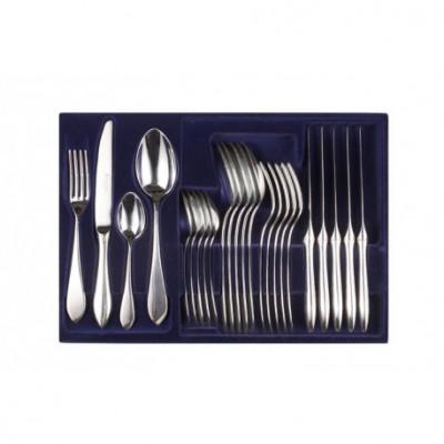 Zestaw sztućców obiadowych ze stali szlachetnej - 24 szt.