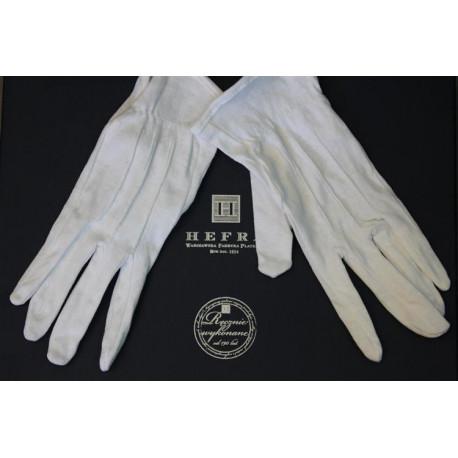 Bawełniane rękawiczki do czyszczenia i pielęgnacji sreber i platerów