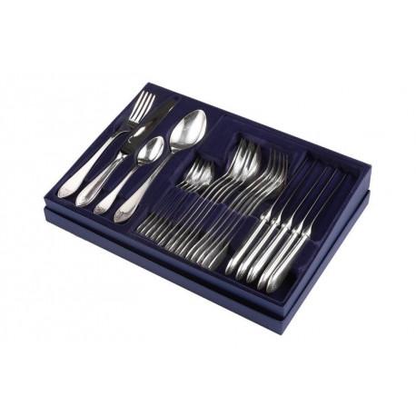 Zestaw sztućców obiadowych ze stali szlachetnej - 48 szt.