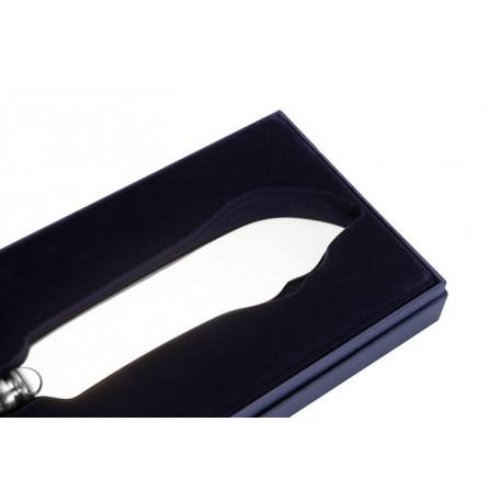 Srebrny nóż do tortu (model francuski)