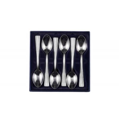 Zestaw łyżeczek do herbaty ze stali szlachetnej - 6 szt. - Model Wschodni