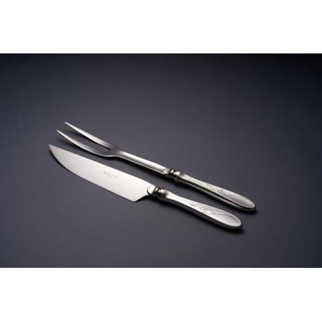 Zestaw sztućców do mięs ze stali szlachetnej - 2 szt. - model Angielski