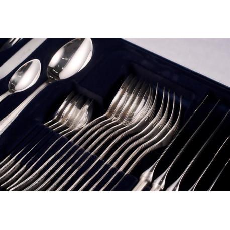 Zestaw sztućców obiadowych ze stali szlachetnej - 24 szt. - model Wschodni